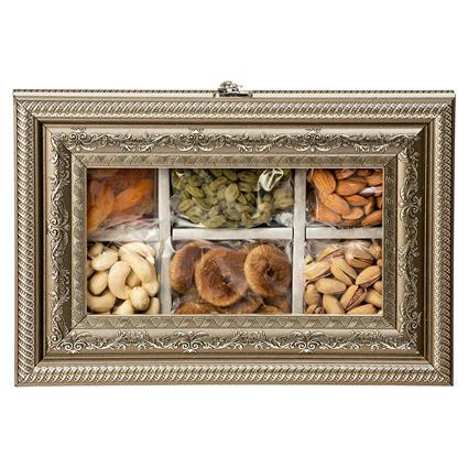 Dryfruit Metal Box Pack Of 6 - L'exclusif