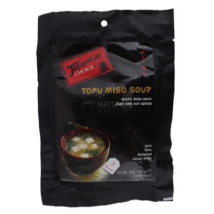 Tofu Miso Soup  -  3 Sachets - Japanese Choice