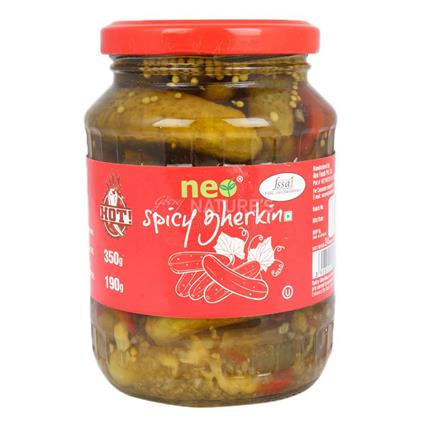 NEO SPICY GHERKINS 350G