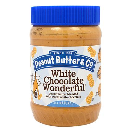 White Chocolate Wonderful Peanut Butter - Peanut Butter & Co