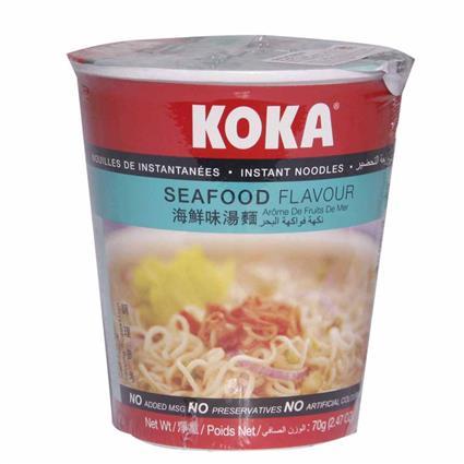 Instant Noodles - Seafood Flavour - Koka