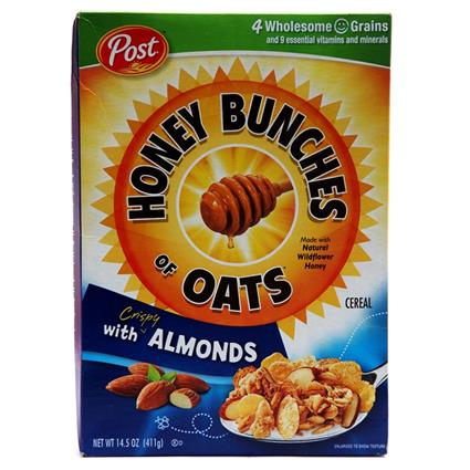 Honey Bunches Of Oats W/ Almonds Cereal - Post