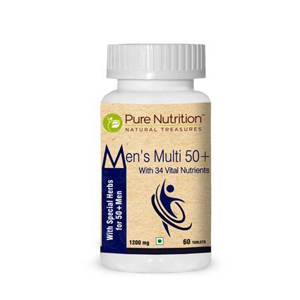 PURE NUTRITION MEN's MULTI 50+ CAP 60N