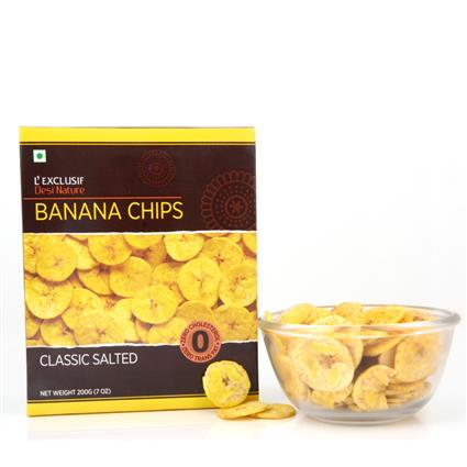 Banana Chips  -  Classic Salted - L'exclusif