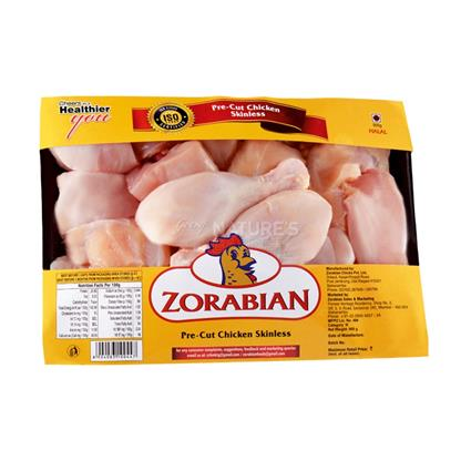 Chicken Pre Cut Skinless - Zorabian
