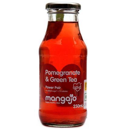 Pomegranate & Green Tea Ice Tea - Mangajo