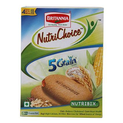 Nutrichoice 5 Grain Biscuits - Britannia