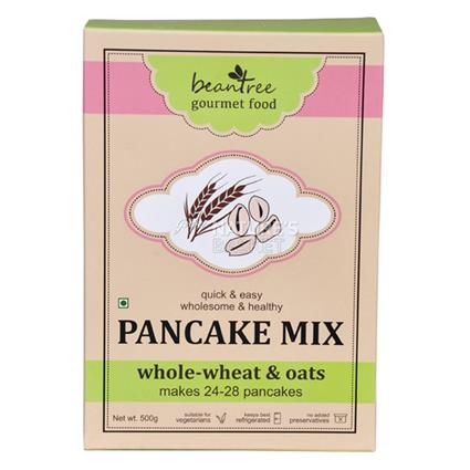 Beantree Whole-Wheat & Oats Pancake Mix - Beantree