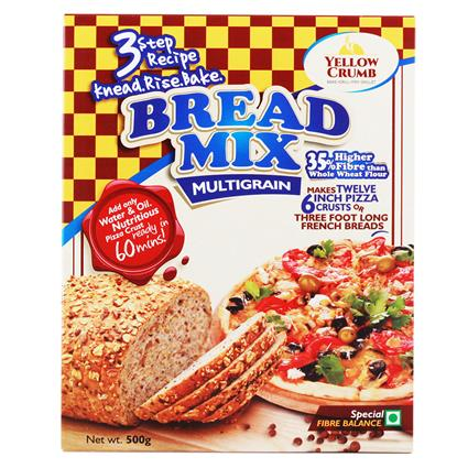 Bread Mix Multi-Grain - Yellow Crumb
