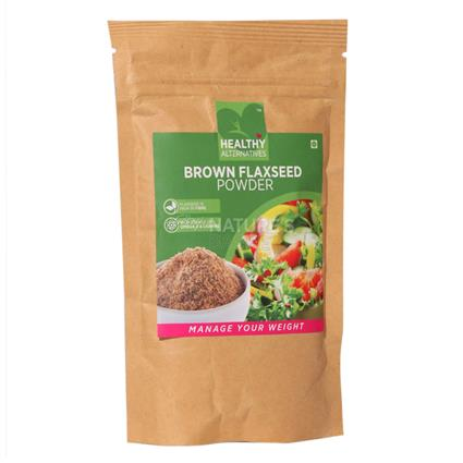 Brown Flaxseed Powder - Healthy Alternatives