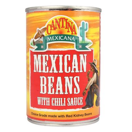 Mexican Beans  W/ Chili Sauce - Cantina Mexicana