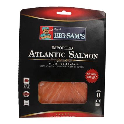 BIG SAMS ATLANTIC SALMON SLICD SMOKD200G