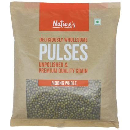 NATURES MOONG WHOLE GREEN 500G