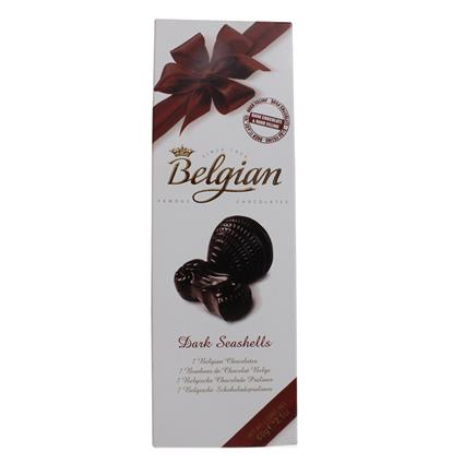 Seashells Dark Chocolate - Belgian