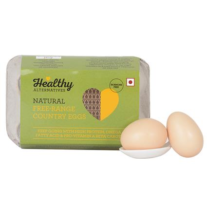 Country Eggs Pack Of 6 - Healthy Alternatives