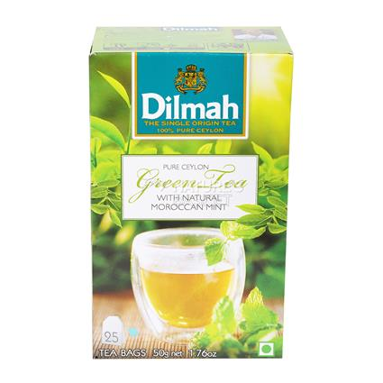 Green Tea W/ Natural Moroccan Mint - Dilmah