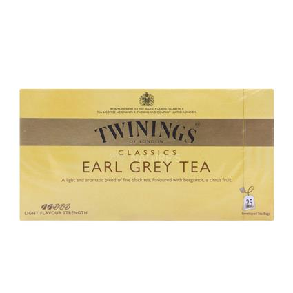 Earl Grey Tea  -  25 Tea Bags - Twinings