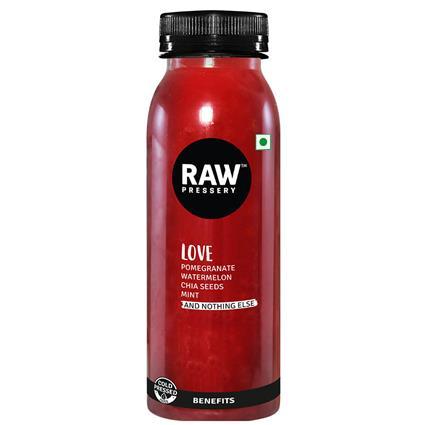 RAW PRESSERY LOVE JUICE 250ML BTL
