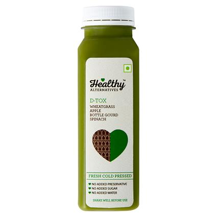Cold Pressed Juice Dtox - Healthy Alternatives