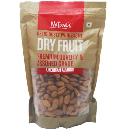 NATURES AMERICAN ALMOND 500G