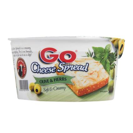 Soft & Creamy Cheese Spread  -  Olive & Herbs - Go Cheese
