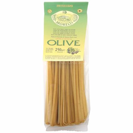 Fettuccine Pasta W/ Wheat Germ And Olive - Morelli