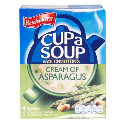 Cup A Soup W/ Croutons Cream Of Asparagus - Batchelors