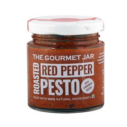Red Peper Pesto W Chir - The Gourmet Jar