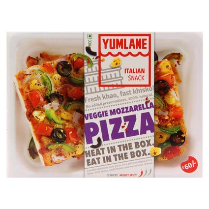 Pizza Lovely Veggie - Yumlane
