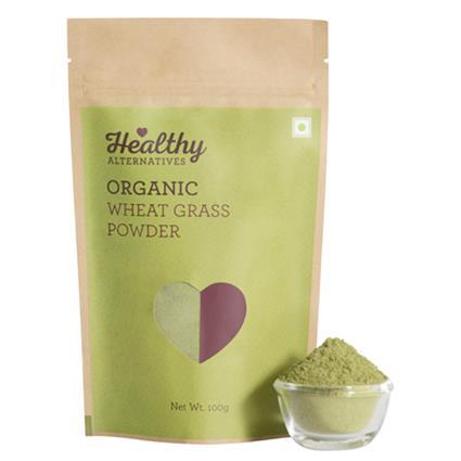 Oraganic Wheat  Grass Powder - Healthy Alternatives