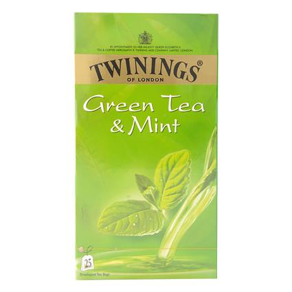 Mint Green Tea  -  25 Tea Bags - Twinings