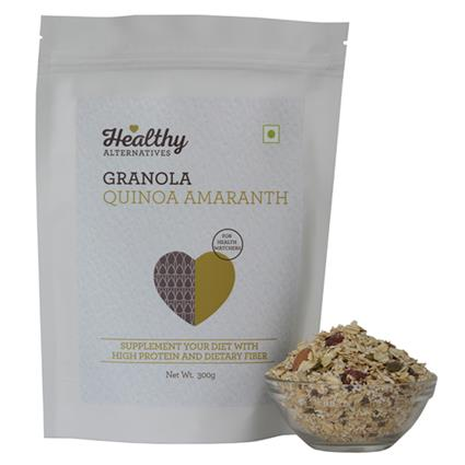Quinoa Amaranth Granola - Healthy Alternatives