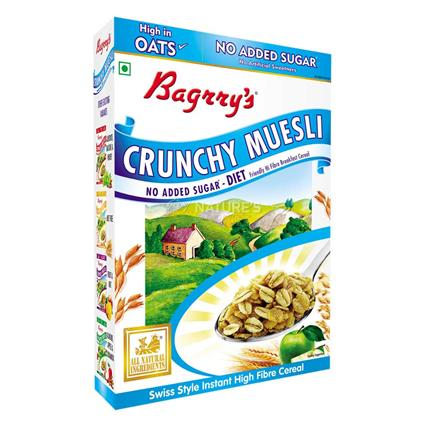 Crunchy Muesli - No Added Sugar - Bagrry's