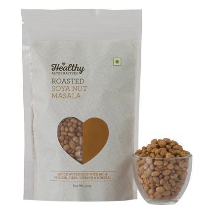 Soya Nut  -  Roasted Masala Snack - Healthy Alternatives