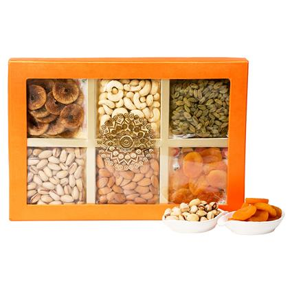 Dryfruit Gift Pack Of 6 - L'exclusif