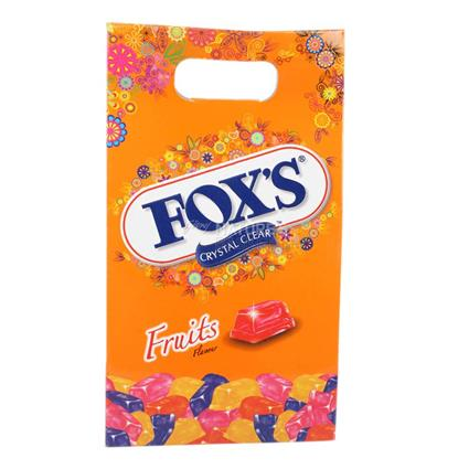 Crystal Clear Fruits Flavoured Candy - Foxs
