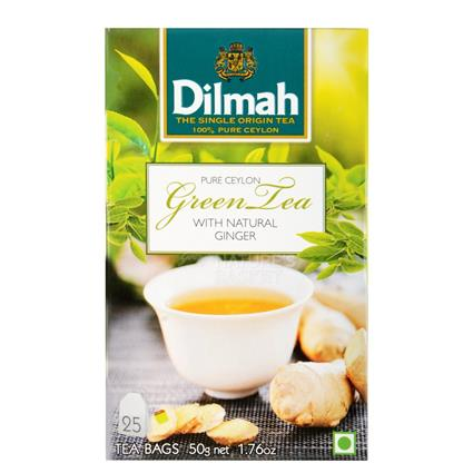 Green Tea W/ Ginger  -25 Tb - Dilmah