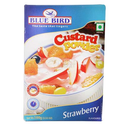 Custard Powder  -  Strawberry - Blue Bird