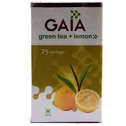 Green Tea & Lemon  -  25 TB - Gaia