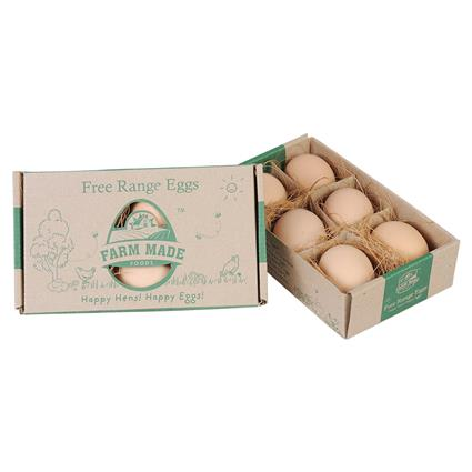Free Range Eggs 6Nos - Farm Made Foods