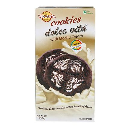Cookies Dolce Vita With Mocha Cream - Violanta