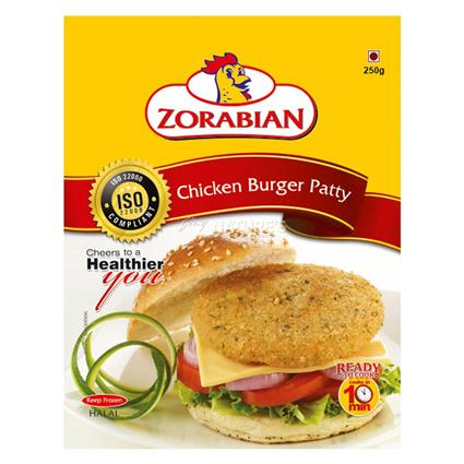 Chicken Burger Patty - Zorabian