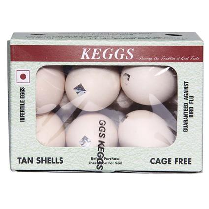 Eggs - Pack Of 6 - Keggs