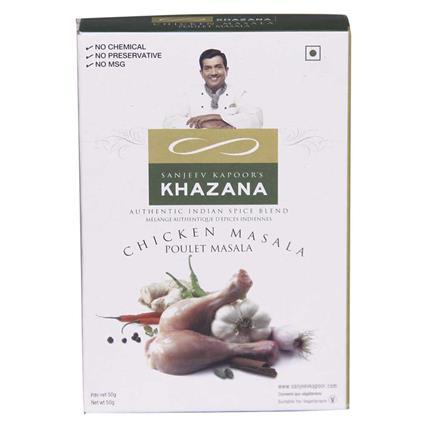 Chicken Masala - Sanjeev Kapoors Khazana