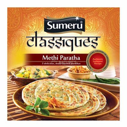 Flaky Methi Paratha - Sumeru