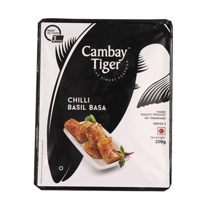 CAMBAY TIGER CHILLI  BASIL BASA FISH 200