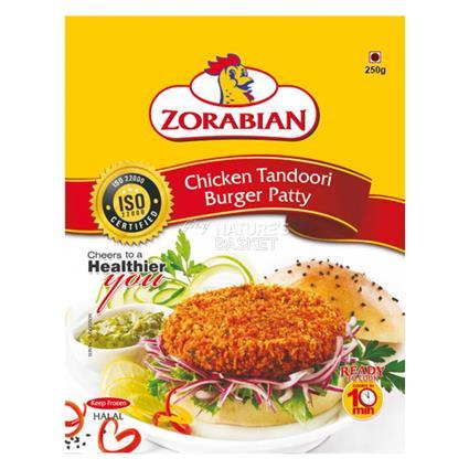 Chicken Tandoori Burger Patty - Zorabian