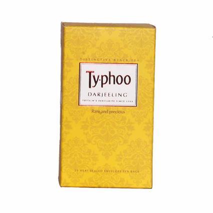 Darjeeling Tea  -  25 Tea Bags - Typhoo