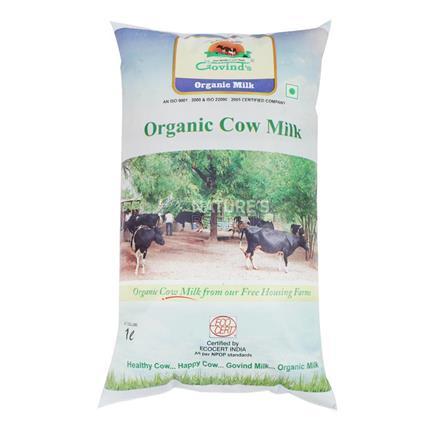 Organic Cow Milk - Govind