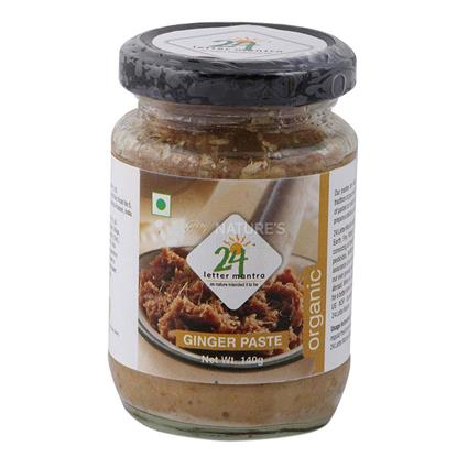 Ginger Paste  -  Organic - 24 Letter Mantra